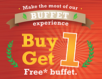Self-Mailer: Golden Corral