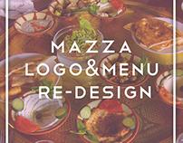 Mazza Logo & Menu Re-design