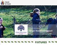 Landing for Great Walstead School