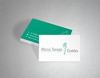 Cartão de Visita   Maria Tereza Catão