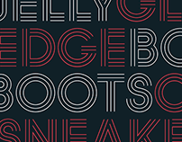 BOSANOVA - Custom Typeface