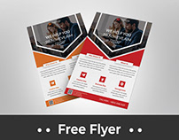 Corporate business Flyer Free Download