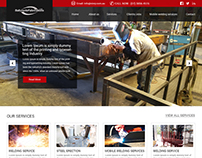 BALLYMOTE FABRICATIONS website Home page Redesign