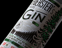 Foerster's Heide Gin - Label Design