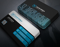 Unique Corporate Business Card