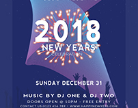 Free New Year Flyer #diprod