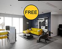 FREE Interior Apartment Scene 106