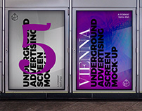 Vienna Underground Ad Screen Mock-Ups 4