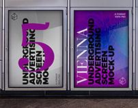 Vienna Underground Ad Screen Mock-Ups 4