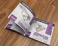 Square For Development & Management Brochures Design