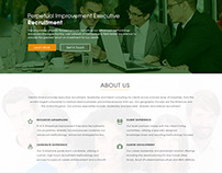 Recruitment & Consultancy Company Home Page