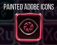 Painted Adobe Icons