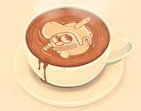 The Creative Pain: Latte
