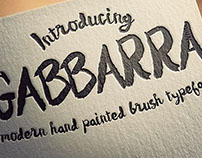 Gabbarra Script font