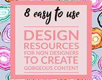 Slide Deck - 8 easy to use design resources