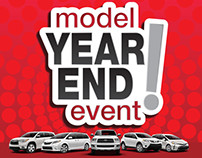 Model Year End Event! Campaign for auto dealerships