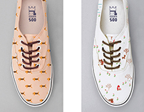 Pattern Shoes