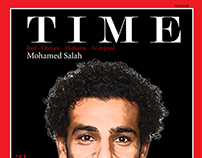my design for TIME and mohamed salah just my design