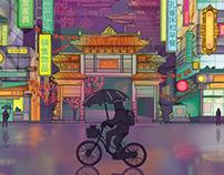 China Travel Poster