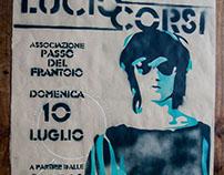 Lucio Corsi Live - Handmade Advertisement
