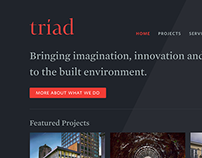 Triad Website and Branding