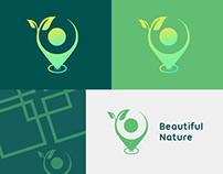 Nature's Logo With The Location