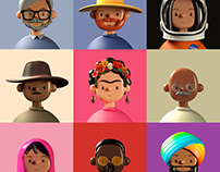 Toy Faces Library — Inspiring Faces