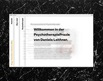 Psychotherapist Daniela Leithner
