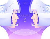 CYBORG S_Brand Cooperation with Vectornator