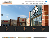 Mall Website Design