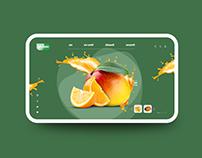 Fruit Web UI Design