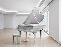 """USG Boral """"Plasterboard Piano"""""""