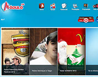 Site - Rádio Modulo FM