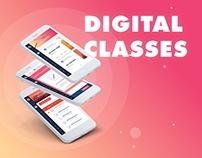 Digital classes - Web Interface