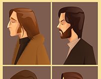 The Beatles - Vector Art Tribute