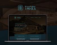 WEBSITE DESIGN // TwobyThree