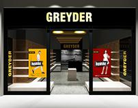 GREYDER İndirim Afiş ve Vitrin Tasarımı