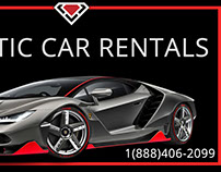 Miami luxury Car rental project