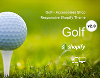 Golf – Accessories Shop Responsive Shopify Theme