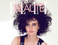 Eva Green - Make up: Aline Schmitt - ELLE Beauté