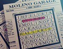 """Empaque CD """"Molino Garage"""""""