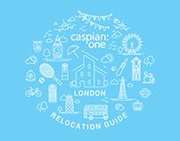 Caspian One Infographic | Illustration