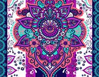 Summer Paisley Print