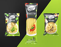 Zernitsa. Pasta design packaging
