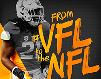 VFL to the NFL Social Graphics