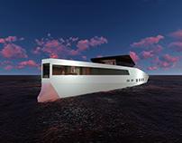 VNZ 60M Yacht - Sunset video