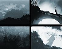 Concept art: Thumbnail sketches | Shushnya