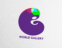 World Gallery Logo Concepts