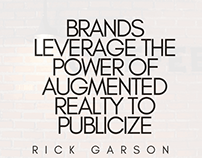 Brands Leverage Power of Augmented Reality To Publicize