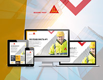 SIKA. Website design